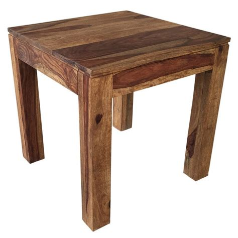 solid wood accent tables idris dark sheesham solid wood accent table 17439686