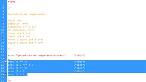 tutorial php desde cero programar en php desde cero parte 4 viyoutube