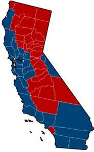 california election results by county map why does california always go blue voters congress