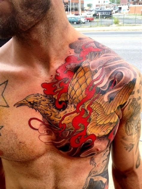 tattoo gallery phoenix symbolic meanings of phoenix tattoos for men