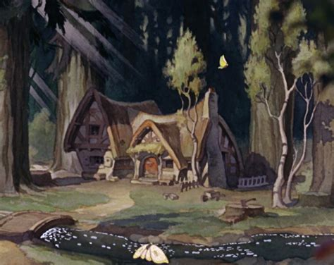 Dwarfs Cottage by Kyle S Travel Snow White And The Seven Dwarfs