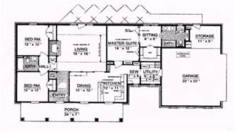 1800 Square Foot House by 1800 Square Foot House Plans Level 1 View Expanded Size