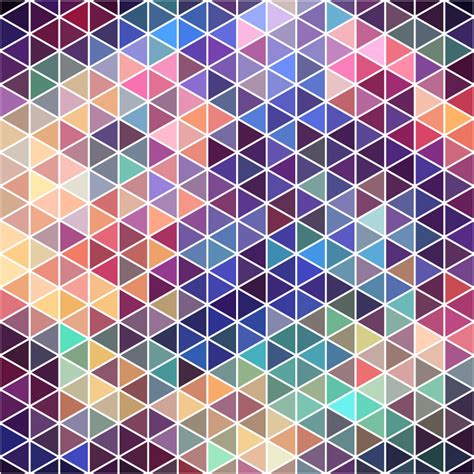 mosaic background neon triangle mosaic background vector free vector