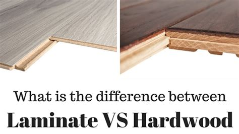 what is a laminate floor difference between laminate flooring vs hardwood flooring