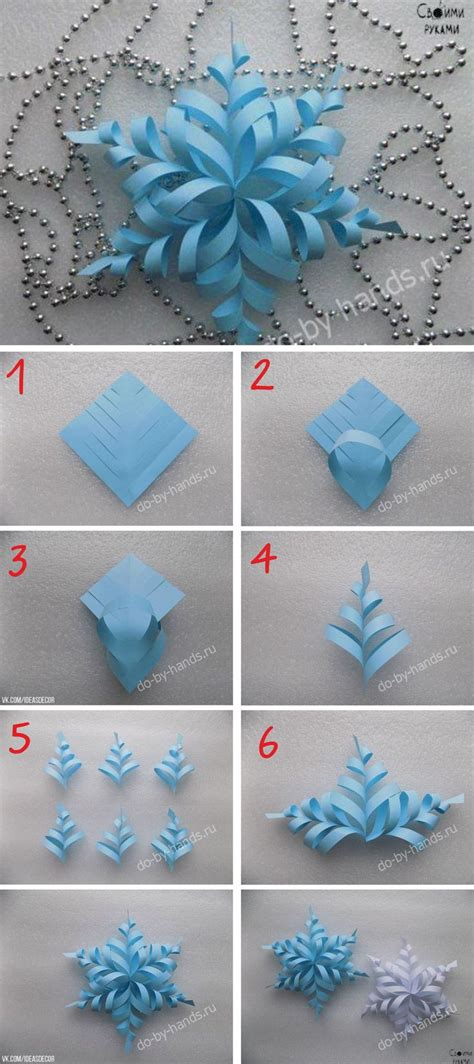 origami snowflake 3d best 25 3d paper snowflakes ideas on paper