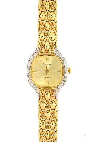 geneve cjw2400 yellow gold watchallure