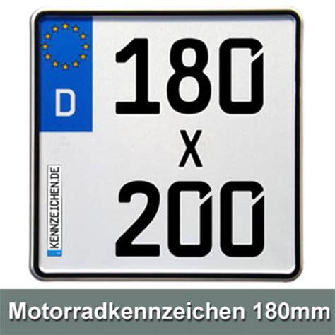 E Kennzeichen Motorrad by Motorrad Kennzeichen Beschriftung 200 X 200mm Euro