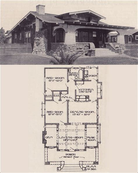 californian bungalow floor plans 227 best images about arts crafts style on pinterest