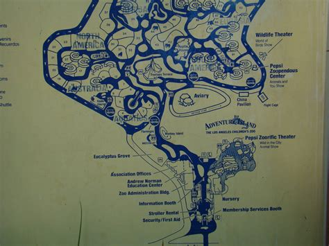 map of los angeles zoo los angeles zoo map zoochat