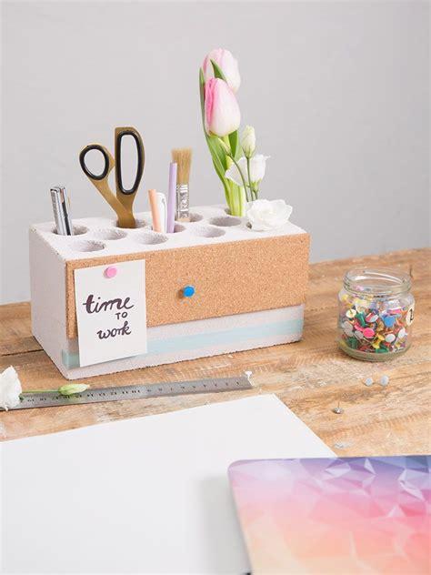 stiftehalter schreibtisch diy anleitung stiftehalter mit pinnwand selber basteln