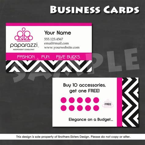 free paparazzi business card template the world s catalog of ideas