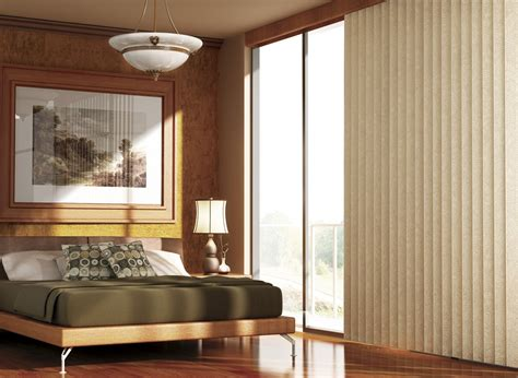 window treatments for sliding glass doors in bedroom