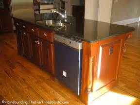 kitchen island sink dishwasher and sink in island kitchen