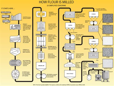 how is how is flour made