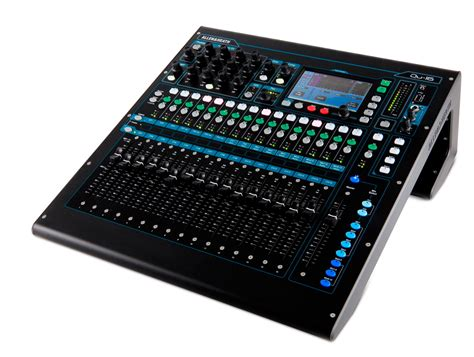 Mixer Allen Heath Qu 32 Channel allen heath qu 16 16 channel digital mixer