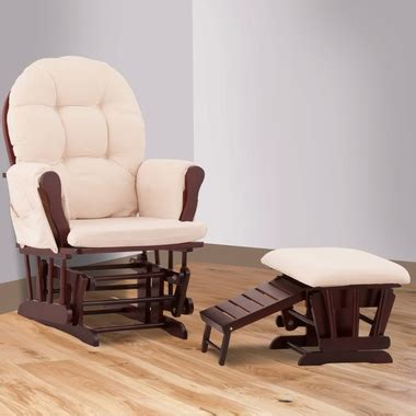 roma glider and nursing ottoman status roma glider and nursing ottoman in cherry and beige
