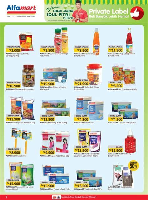 Alfamart Air Mineral promo harga hemat alfamart bandung juli 2016 katalog