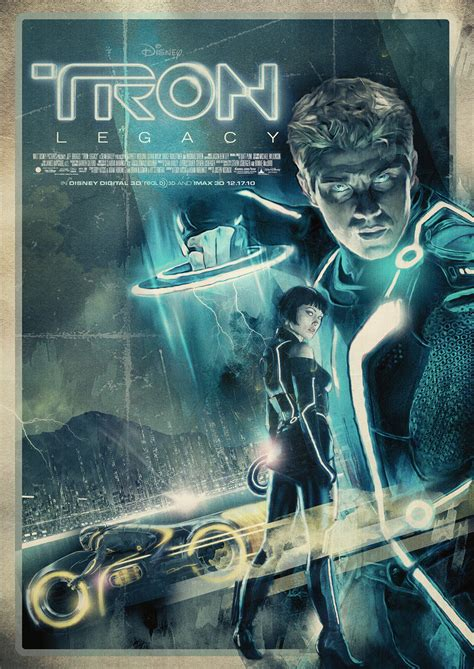 design legacy art the geeky nerfherder movie poster art tron legacy 2010