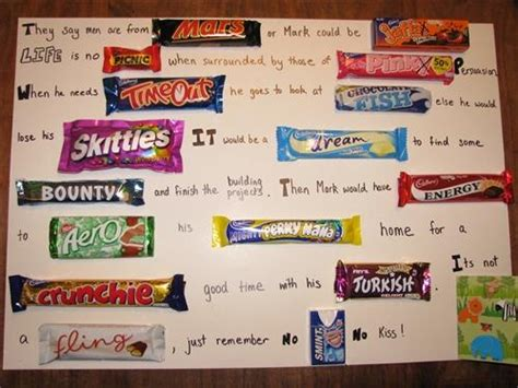 1000 images about chocolate bar letter on pinterest