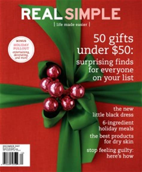 real simple magazine real simple subscription 10
