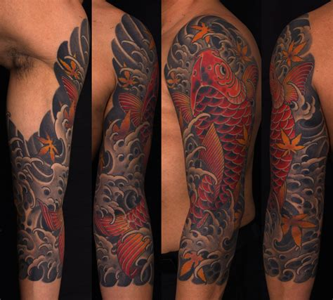tattoo arm koi koi tattoo sleevedenenasvalencia