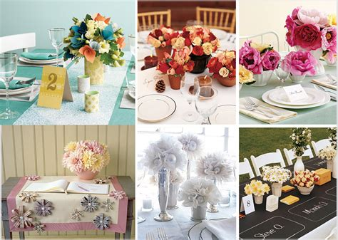 paper wedding flowers affordable wedding reception