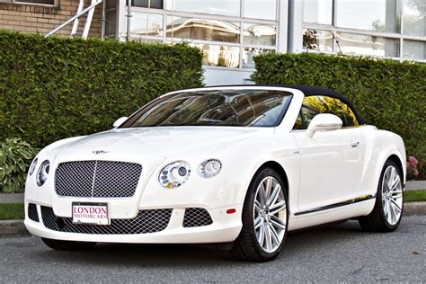 White Bentley Continental Convertible Imgkid Com