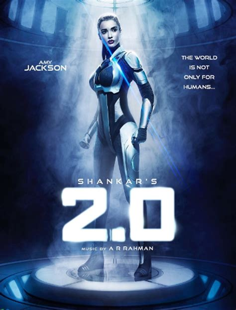 film robot 2017 first look amy jackson s robot look from the 2 0 is a