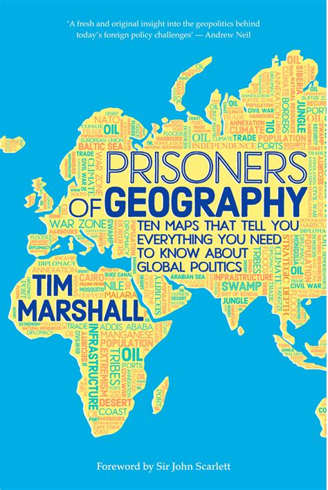 libro prisoners of geography ten comillas journal of international relations