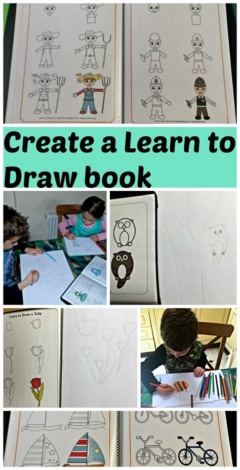 how to make your own doodle book make your own learn to draw book ofamily learning together