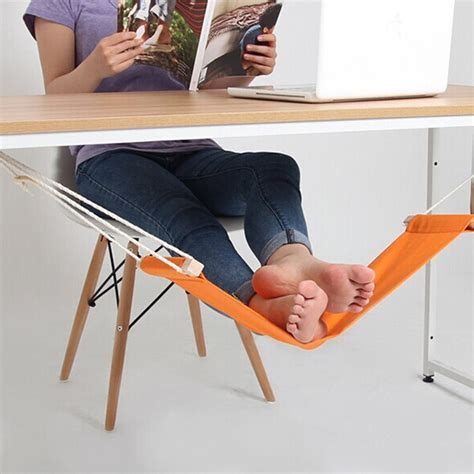 The Desk Foot Hammock by Office Foot Rest Stand Desk Hammock Easy To