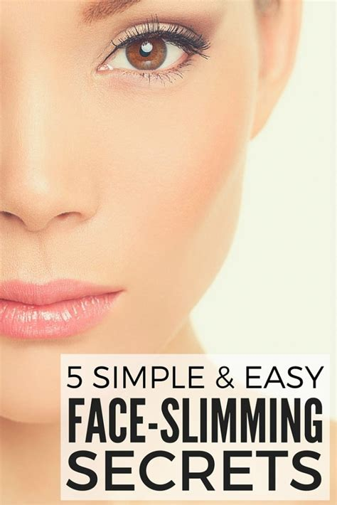 easy hairstyles to make your face look thinner 5 tutorials to teach you how to make your face look thinner