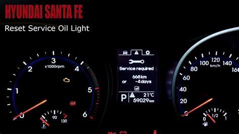 reset l200 service light reset check engine light 2003 hyundai santa fe