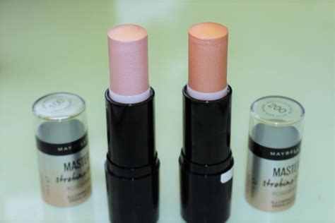 Maybelline Strobing Stick maybelline master strobing stick review swatches