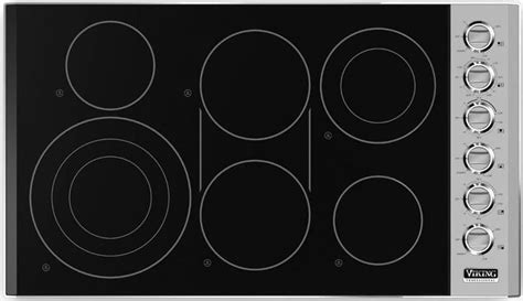 Viking VEC5366BSB 36 Inch Smoothtop Electric Cooktop with