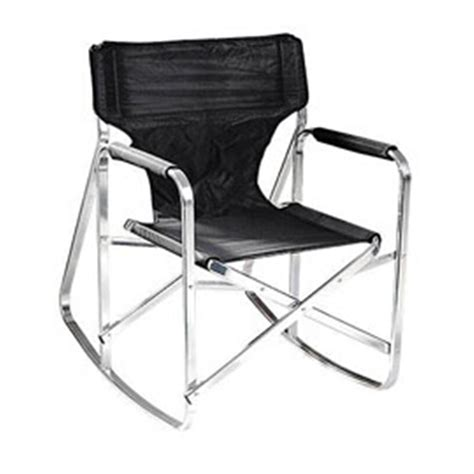 stylish camping rocking full  folding directors chair  chairs  sportsmans guide