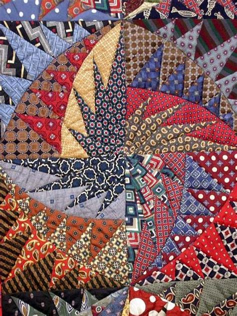 Silk Tie Quilts Patterns by S In Stitches Favorites From The Iqa Festival In