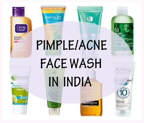 Acnes Facewash 10 best wash for pimple and acne in india with prices