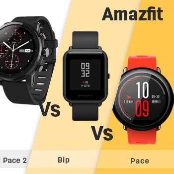 Amazfit Pace amazfit pace 2 stratos vs amazfit bip vs amazfit pace