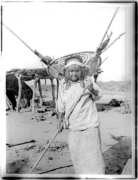 Pima Search File Pima Indian Si Rup Carrying Firewood In Quot Kathak Quot Or Basket In Pima