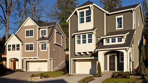 three story houses bothell wa new homes for sale timber creek the bungalows