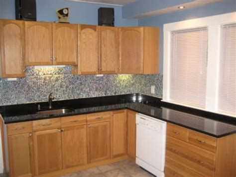 countertops for light oak cabinets dark countertops light cabinets kitchen ideas