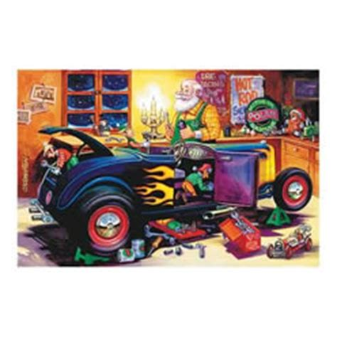 Summit Racing Gift Card Discount - hot rod workshop santa and elves christmas card sets x821