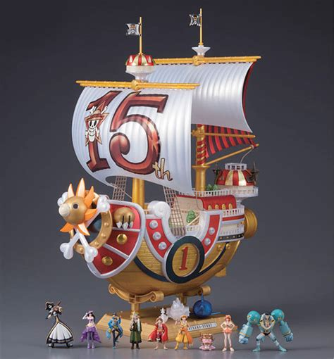 Figure Set Thousand 15th One Anniversary Ship sailing ship collection thousand tv 15th anniversary ed 92074
