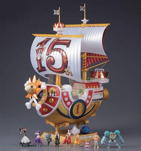 Kapal One Model Kit Kapal Thousand Figure Chopper Sanji ワンピース 本格帆船プラモシリーズ サウザンド サニー号 tvアニメ15周年ver プラモデル 2014年8月発売