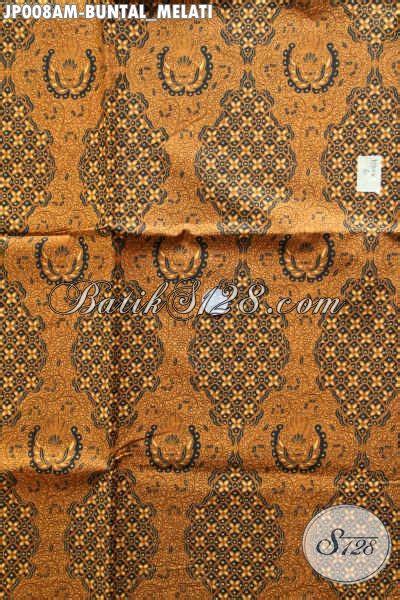 Jual Bahan Kain Printing jual kain batik klasik bahan jarikk motif buntal melati