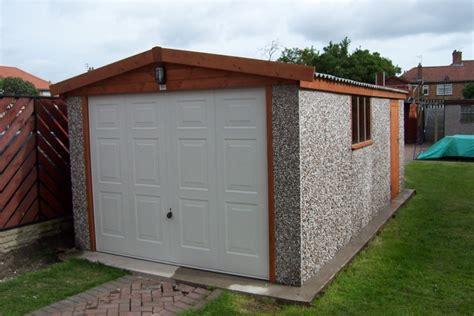 Hanson Garages Featherstone by Apex Range Hanson Concrete Garages