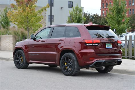 2019 Jeep Grand by 2019 Jeep Grand Trackhawk Review Gtspirit