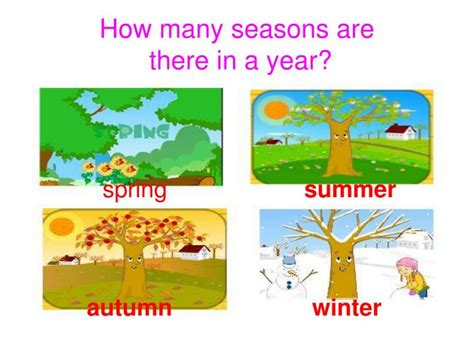 how many are there ppt how many seasons are there in a year powerpoint