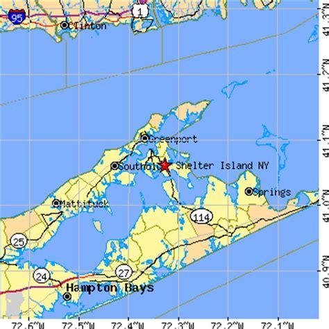 shelters island shelter island new york ny population data races housing economy
